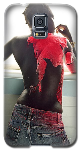 Galaxy S5 Case featuring the photograph Josephine Red by Rebecca Harman