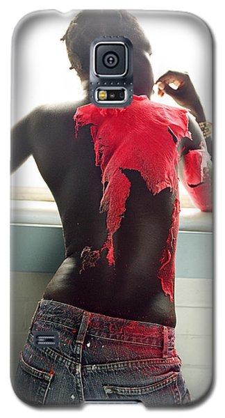 Josephine Red Galaxy S5 Case by Rebecca Harman