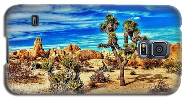 Galaxy S5 Case featuring the photograph Joshua Tree by Benjamin Yeager