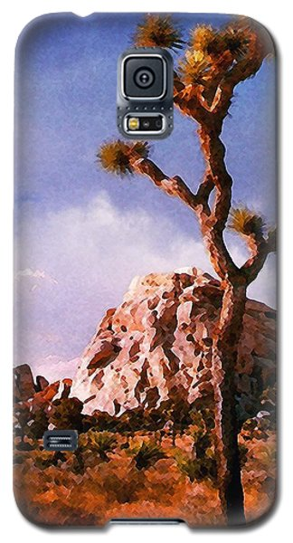 Galaxy S5 Case featuring the photograph Joshua Trees 3 by Timothy Bulone