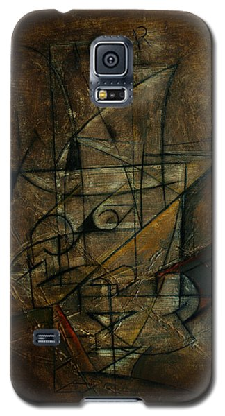 Galaxy S5 Case featuring the painting Jour by Kim Gauge