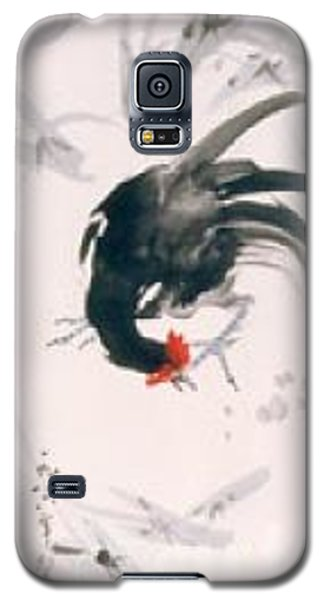 Galaxy S5 Case featuring the painting Jovial by Fereshteh Stoecklein