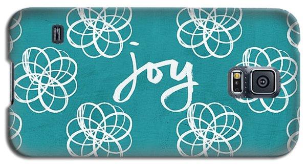 Joy Boho Floral Print Galaxy S5 Case by Linda Woods