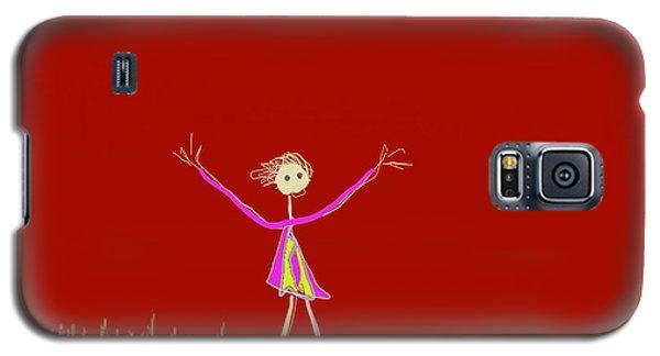 Joy Child Galaxy S5 Case by Asok Mukhopadhyay