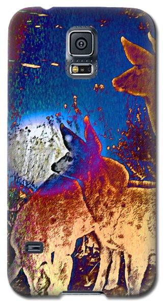 Galaxy S5 Case featuring the photograph Joy In The Holidays by Lenore Senior and Dawn Senior-Trask