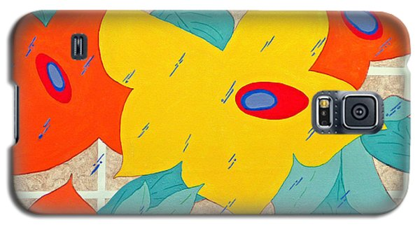 Galaxy S5 Case featuring the painting Joy In The Rain by Jim Whalen