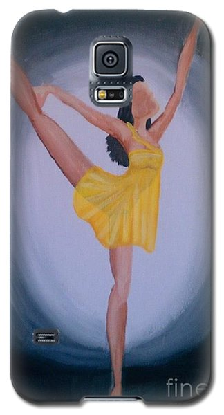 Galaxy S5 Case featuring the painting Joy by Marisela Mungia