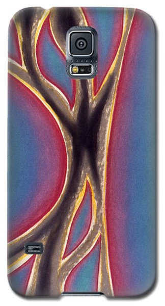 Galaxy S5 Case featuring the pastel Joy by Susan Will