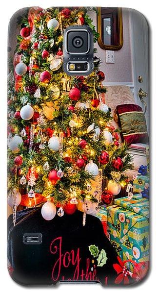 Joy To The World Christmas Tree Galaxy S5 Case