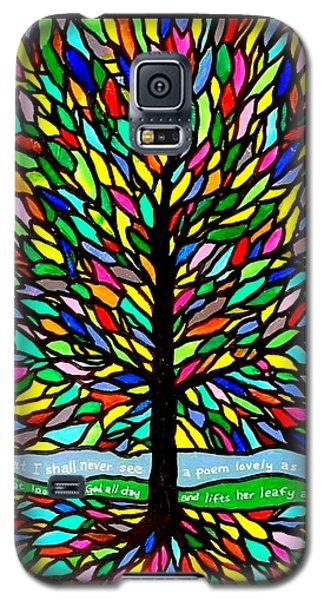 Joyce Kilmer's Tree Galaxy S5 Case