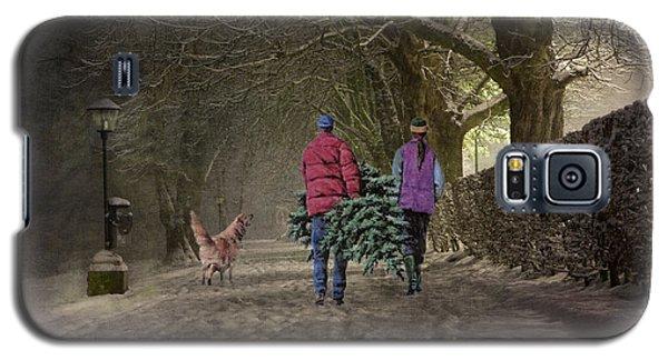 Joyeux Noel - Merry Christmas Galaxy S5 Case by Lianne Schneider