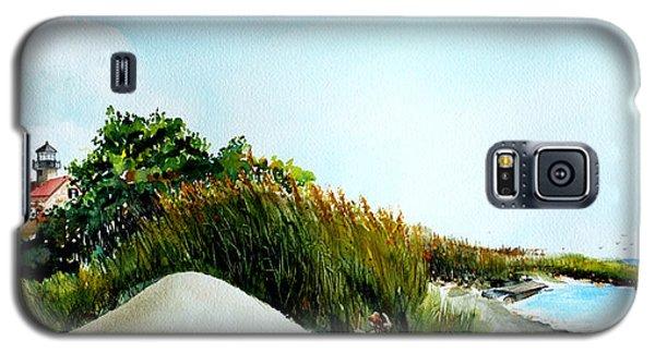 Joyful Day At East Point Light House  Galaxy S5 Case