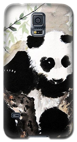 Galaxy S5 Case featuring the painting Joyful Innocence by Bill Searle