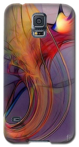 Joyful Leap-abstract Art Galaxy S5 Case