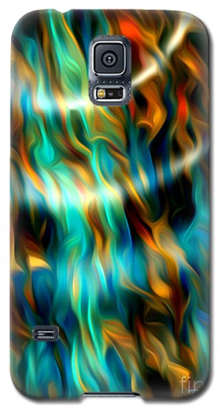 Joyful Waves - Abstract Art By Giada Rossi Galaxy S5 Case by Giada Rossi