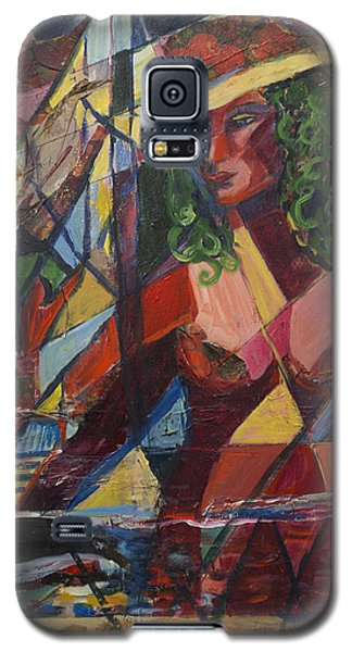 Galaxy S5 Case featuring the painting Joys Intended by Avonelle Kelsey