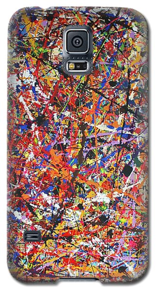 Galaxy S5 Case featuring the painting JP by Michael Cross