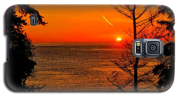 Juan De Fuca Sunset Galaxy S5 Case