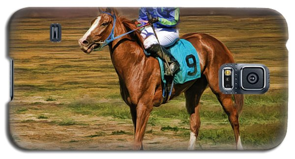 Juan Hermandez On Horse Atticus Ghost Galaxy S5 Case