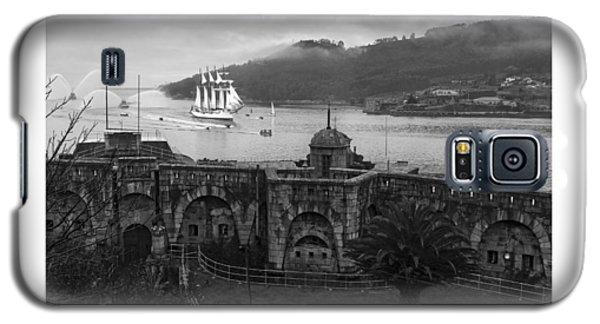 Juan Sebastian Elcano Arrival To The Port Of Ferrol Galaxy S5 Case