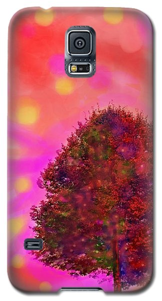 Galaxy S5 Case featuring the digital art Jubilee Of Fall by Mary Armstrong
