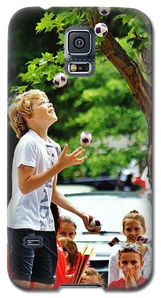Galaxy S5 Case featuring the photograph Juggling... by Al Fritz