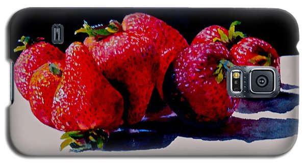 Juicy Strawberries Galaxy S5 Case