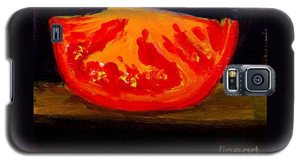 Juicy Tomato Modern Art Galaxy S5 Case