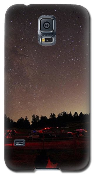 Julian Night Sky Milky Way Galaxy S5 Case