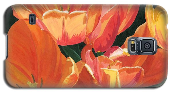 Julie's Tulips Galaxy S5 Case