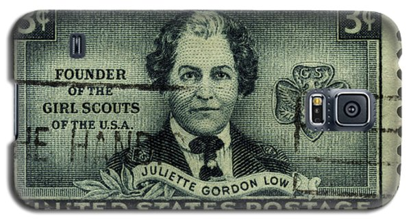 Girl Scouts Founder Juliette Gordon Low Postage Stamp Galaxy S5 Case