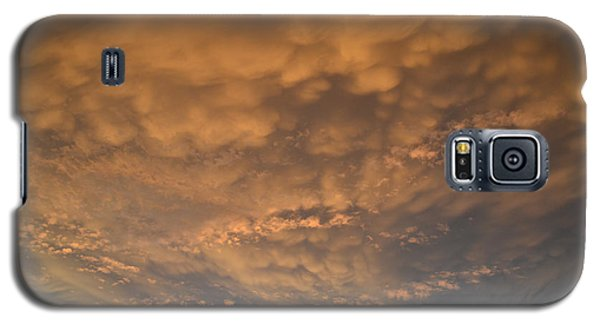 Galaxy S5 Case featuring the photograph July 19-2013 Sunset Sky  by Lyle Crump
