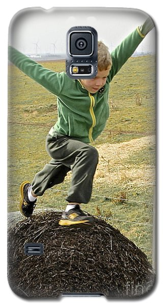 Jumping Haystacks Galaxy S5 Case