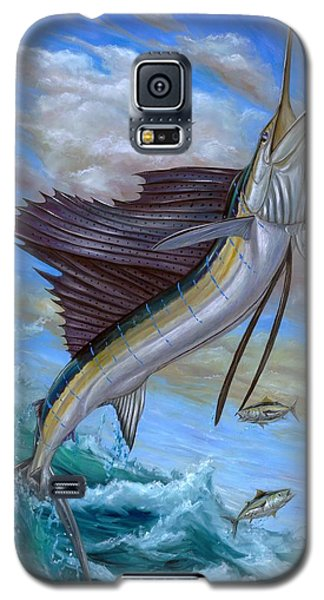Jumping Sailfish Galaxy S5 Case