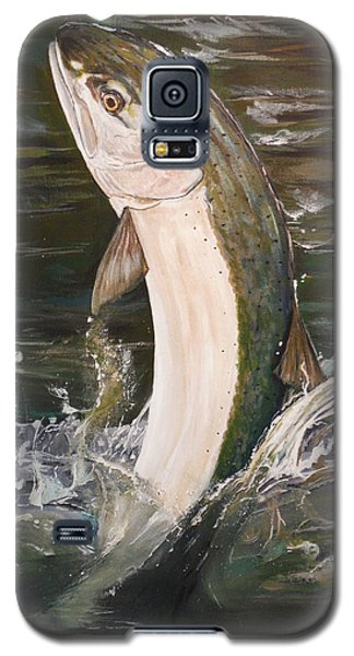 Jumping Steelhead Galaxy S5 Case