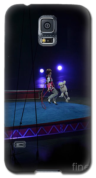 Galaxy S5 Case featuring the photograph Jumprope With Fido by Robert Meanor