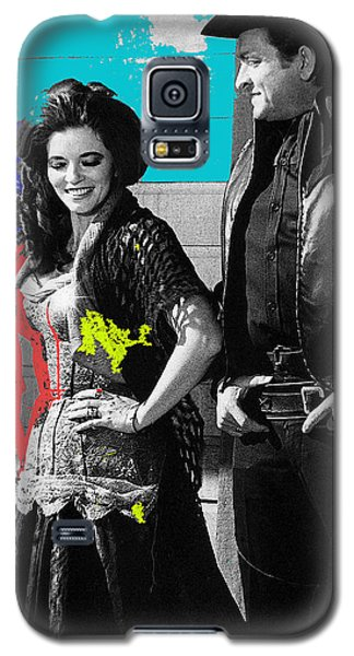 June Carter Cash Johnny Cash In Costume Old Tucson Az 1971-2008 Galaxy S5 Case