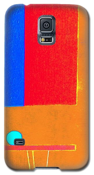 Galaxy S5 Case featuring the painting June In Provence by Bill OConnor