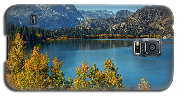 Galaxy S5 Case featuring the photograph June Lake Blues And Golds by Lynn Bauer