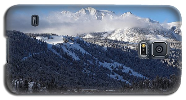 Galaxy S5 Case featuring the photograph June Lake Winter by Duncan Selby