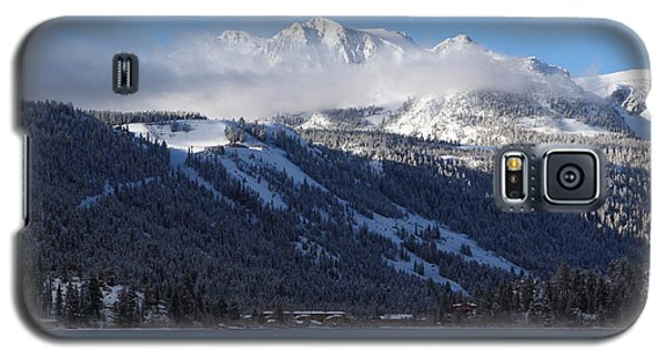 June Lake Winter Galaxy S5 Case by Duncan Selby