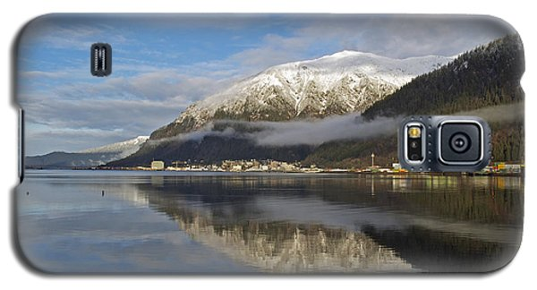 Juneau In Winter Galaxy S5 Case by Cathy Mahnke