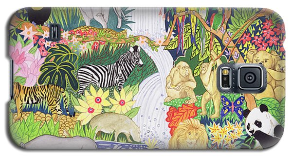 Toucan Galaxy S5 Case - Jungle Animals Wc by Tony Todd
