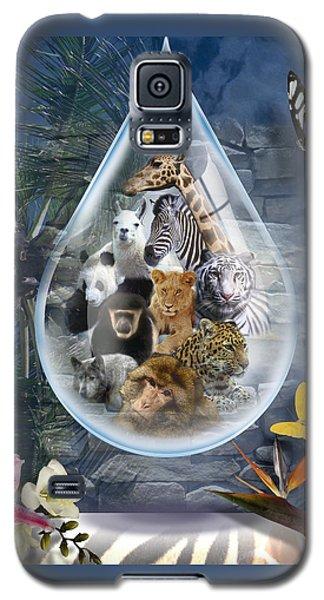 Jungle Drop Galaxy S5 Case