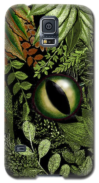 Jungle Eye Galaxy S5 Case