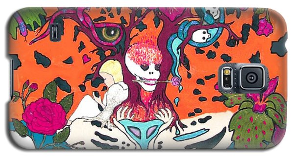 Galaxy S5 Case featuring the digital art Jungle Fever 5 by Stephanie Grant