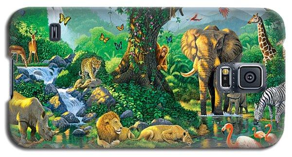 Jungle Harmony Galaxy S5 Case by Chris Heitt