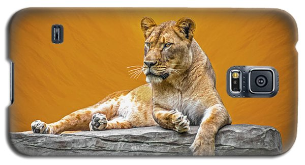 Jungle Queen Galaxy S5 Case by Marion Johnson