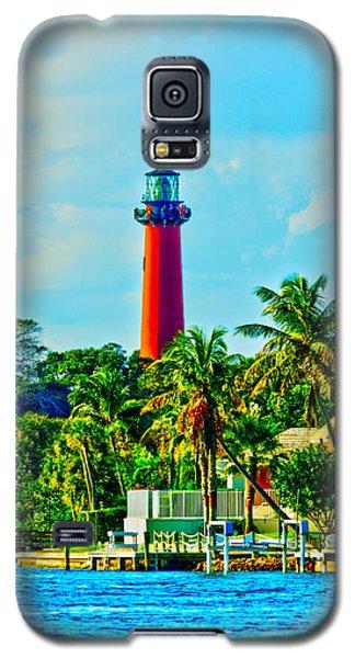 Jupiter Lighthouse Winter Galaxy S5 Case