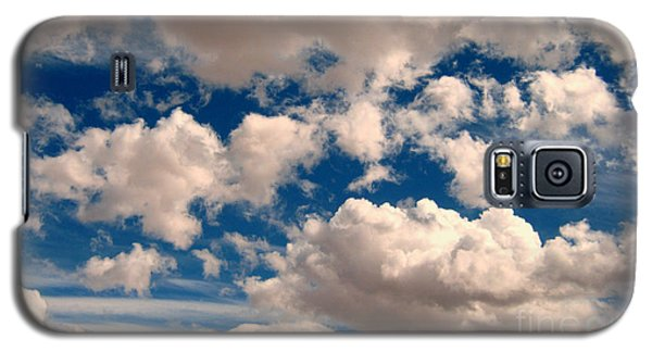 Galaxy S5 Case featuring the photograph Just A Face In The Clouds by Janice Westerberg